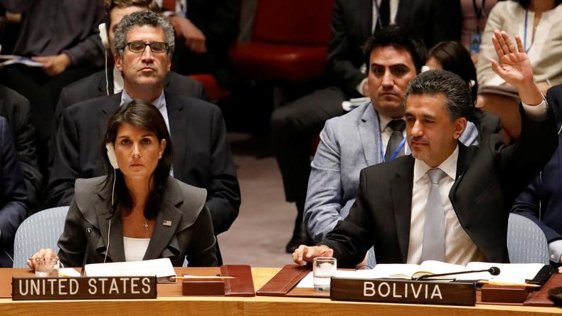 Zwei Nahost-Resolutionen scheitern im UN-Sicherheitsrat
