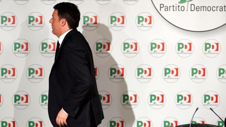 Italienischer Ex-Ministerpräsident Renzi: Ich habe vorerst verloren, aber ich komme wieder (Video)