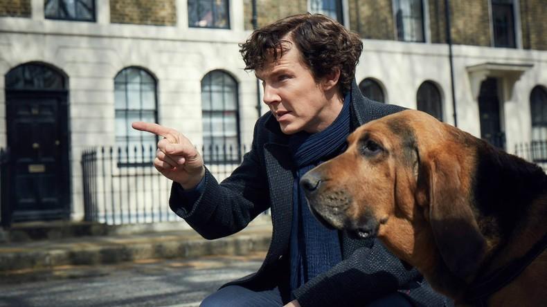 Ordnungshüter nicht nur auf der Leinwand: Schauspieler Benedict Cumberbatch rettet Mann vor Räubern