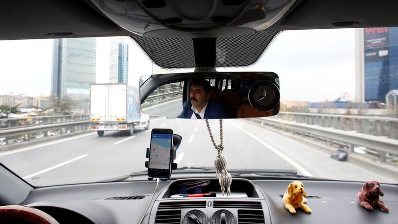 """Recep Tayyip Erdoğan kündigt Verbot von Uber an: """"Wir haben ein Taxi-System"""""""