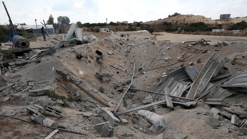 Israelische Kampfjets greifen Stellungen in Gazastreifen an