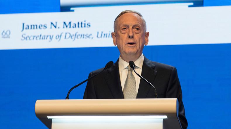US-Verteidigungsminister hält Ende der Sanktionen gegen Nordkorea erst nach Abrüstung für möglich