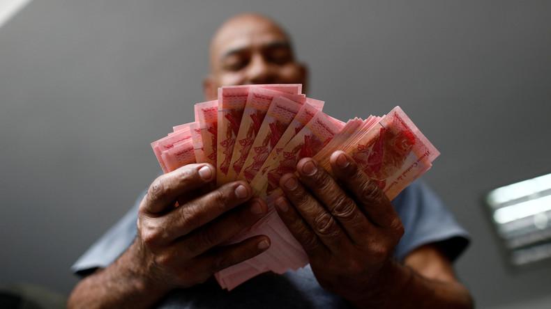 Venezuela führt wegen Hyperinflation neue Währung ein