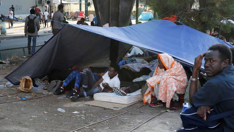 Paris findet keine nachhaltige Lösung: Migranten werden in Villenviertel umgesiedelt