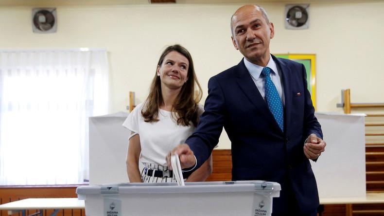 Vorläufiges Ergebnis: Rechtskonservative Partei gewinnt Wahl in Slowenien