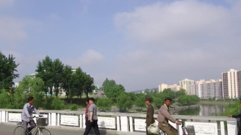 Alles sehr sauber und prachtvolle Bauten - Exklusivaufnahmen aus Nordkorea