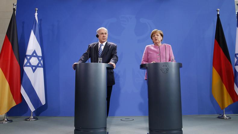 LIVE: Merkel und Netanjahu geben Pressekonferenz in Berlin