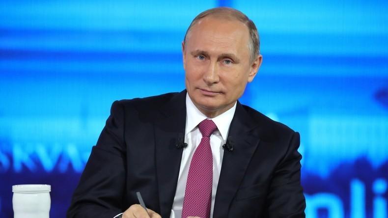 """""""Heißer Draht"""" - Vorankündigung zur Fragerunde mit Putin (Video)"""