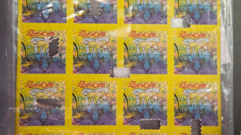 Ermittler stellen bisher größten Fund von LSD in Deutschland sicher