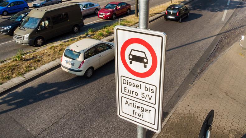 Diesel-Fahrverbot - Hamburger Polizei beginnt mit Kontrollen