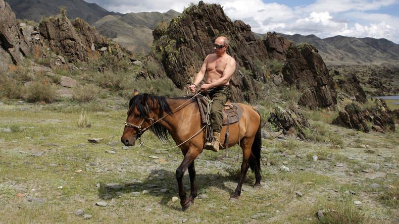 """Putin über seinen Oben-Ohne-Hit im Internet: """"Kein Grund, mich zu verstecken"""""""