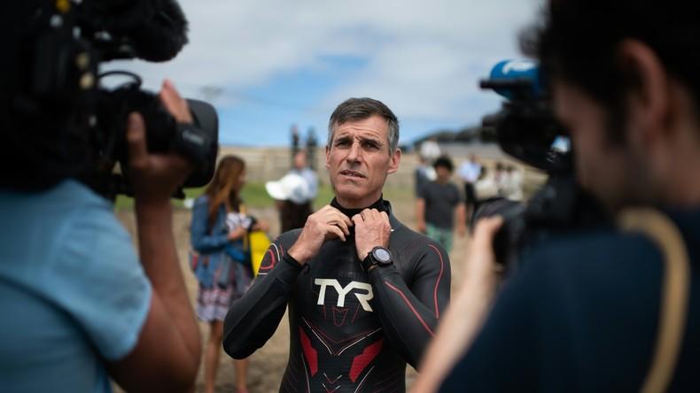 9.000 Kilometer Freistilschwimmen der Umwelt wegen: Franzose startet Marathon durch Pazifik