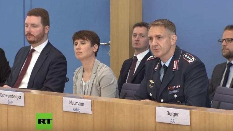 Verteidigungsministerium zu RT: Wegen russischer Bedrohung müssen wir NATO-Eingreiftruppe ausbauen
