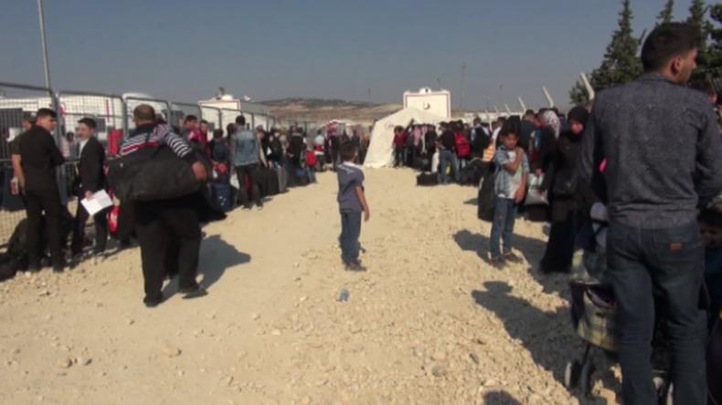 Türkei: Zehntausende von Syrern kehren heim, um das Zuckerfest zu feiern