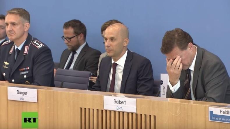 Regierungspressekonferenz zu Skripal: Was wussten Merkel und Maas über Nowitschok-Proben des BND?
