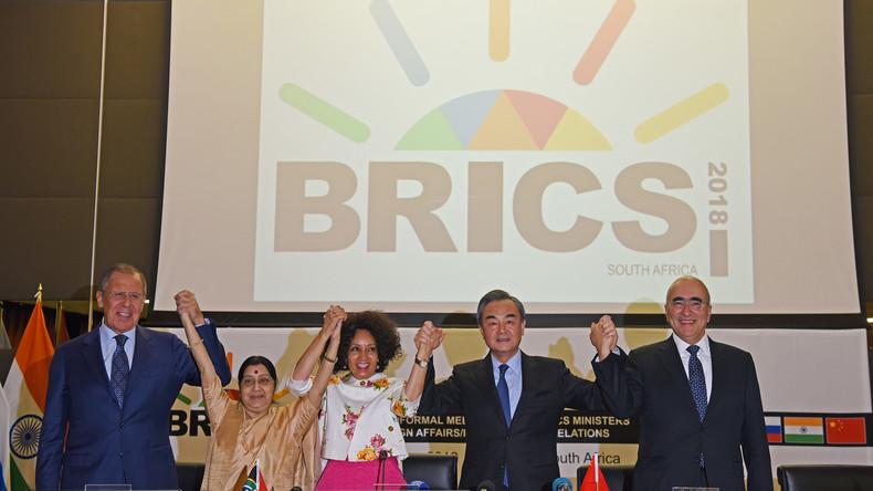 BRICS-Treffen in Südafrika: China ruft zu mehr Multilateralismus und Zusammenarbeit auf