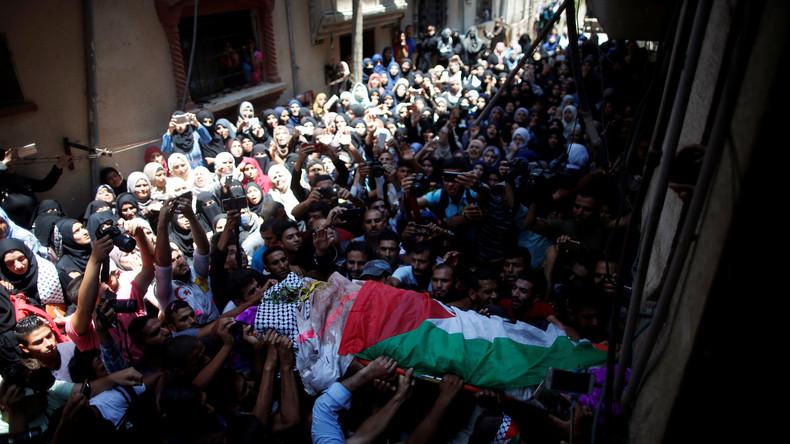 Tod palästinensischer Krankenschwester befeuert den Konflikt zwischen Israelis und Palästinensern