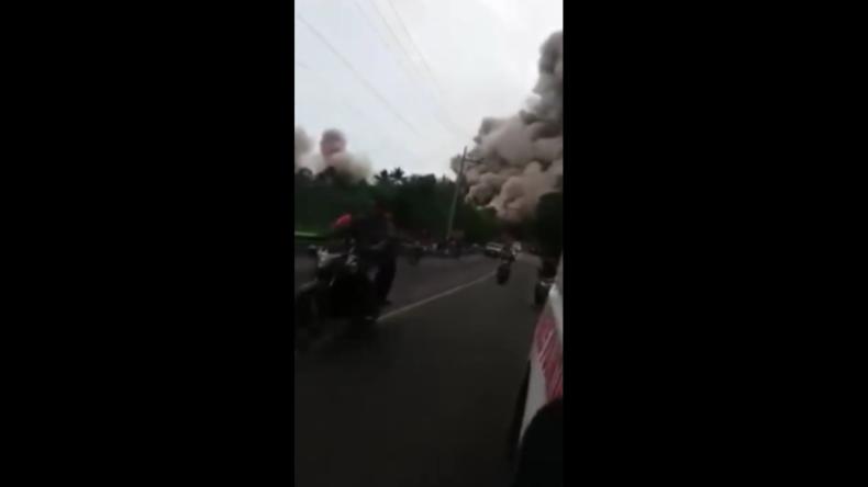 Guatemala: Bilder, die an 9/11 erinnern – Riesige Rauchwolke verschlingt fliehende Menschen