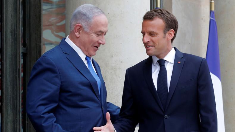 LIVE: Macron und Netanjahu geben Pressekonferenz in Paris