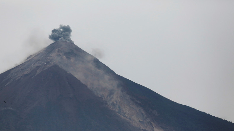 Vulkan in Guatemala bricht erneut aus - ganze Ortschaften evakuiert