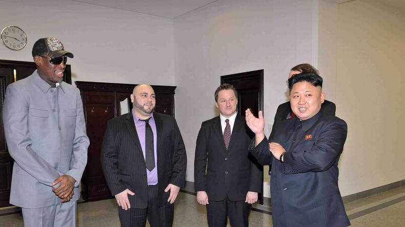 Dennis Rodman könnte Vermittlerrolle bei Trump-Kim Gipfel in Singapur einnehmen
