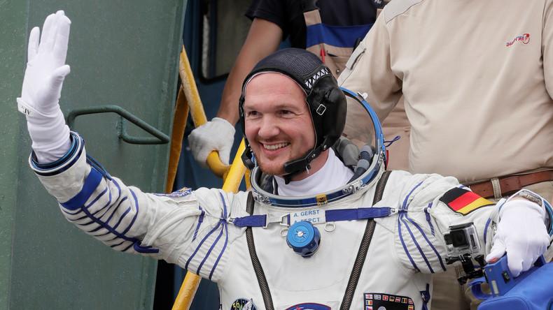 Deutscher Astronaut Gerst zur Raumstation ISS gestartet