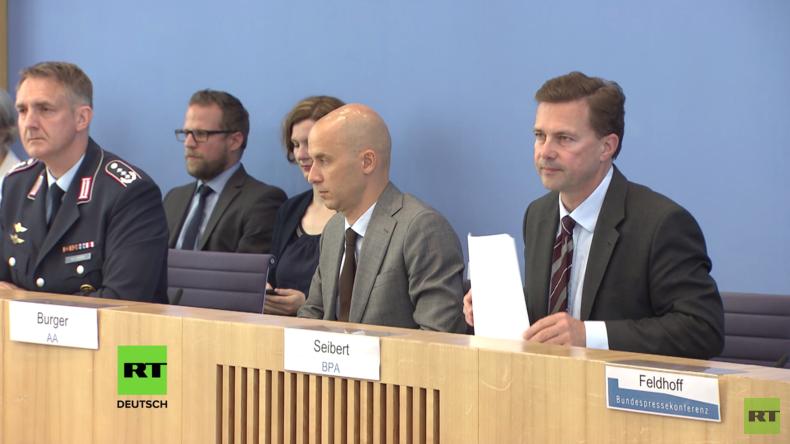 """Regierungspressekonferenz: Bilderberg, Nowitschok und warum RT """"Propaganda"""" ist (Video)"""
