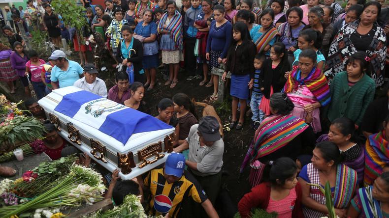 Bereits 99 Tote nach Vulkanausbruch in Guatemala geborgen