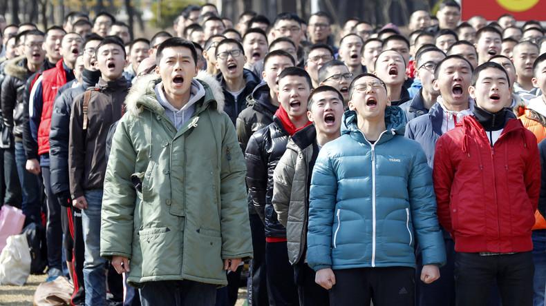 Junge Südkoreaner erhoffen sich von Trump-Kim-Gipfel künftige Verschonung vom Wehrdienst