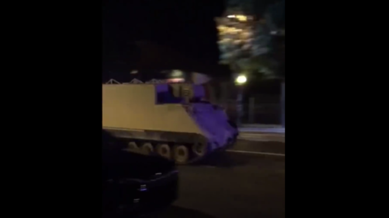 USA: Soldat stiehlt Panzer und beschert Polizei fast zweistündige Verfolgungsjagd