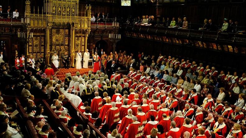 Werte Lords, bitte schlafen Sie zu Hause: Britisches Oberhaus verbietet Mitgliedern kurze Nickerchen