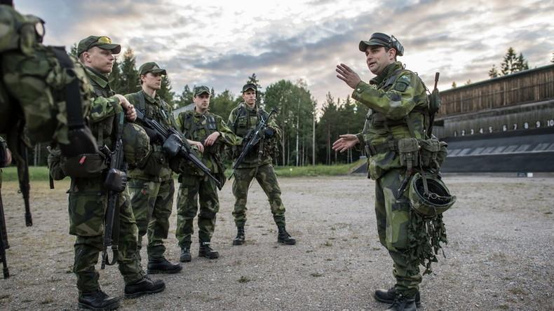 Erstmals seit 40 Jahren: Schweden beruft alle Reservisten für Militärmanöver ein