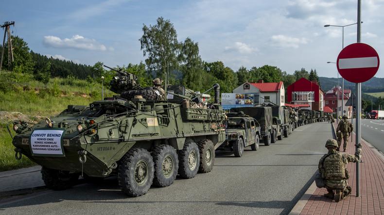 13 US-Soldaten bei Unfall in Litauen verletzt