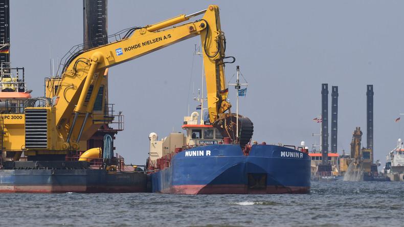Grünes Licht: Auch Schweden genehmigt Ostsee-Pipeline Nord Stream 2