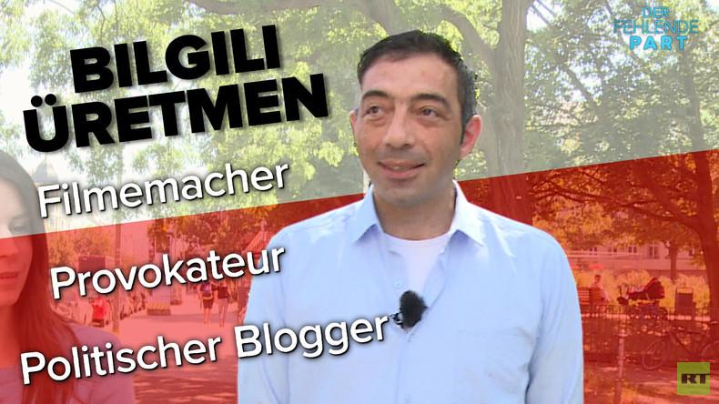 """""""Wir sind einfach nur Erdogan-Anhänger"""" - Warum Blogger B. Üretmen sich für Erdogan ins Zeug legt"""