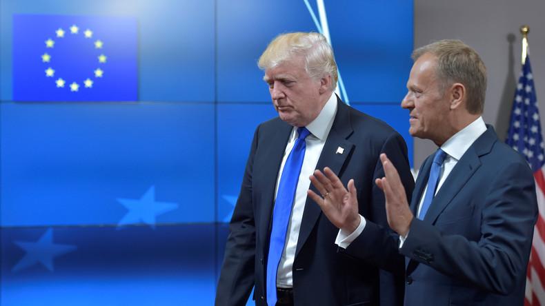 Handelskrieg hat begonnen: EU, Kanada und Mexiko verhängen Strafzölle gegen USA