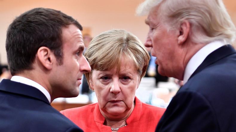 G7-Gruppe vor dem Gipfel in Quebec tief gespalten (Video)