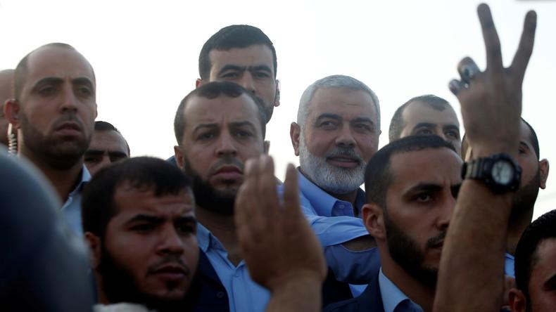Gaza-Konflikt: Hamas-Anführer will die Grenzen zu Israel einreißen