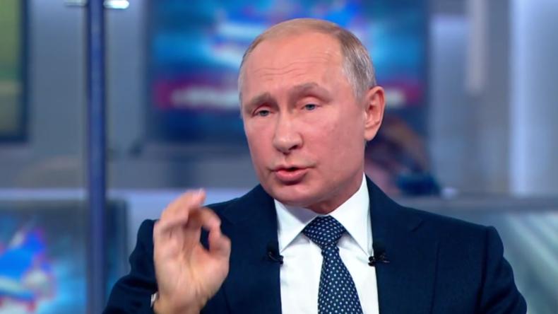 """Putin zu Skripals: """"Nowitschok-Einsatz unmöglich, sonst wären sie an Ort und Stelle gestorben"""""""