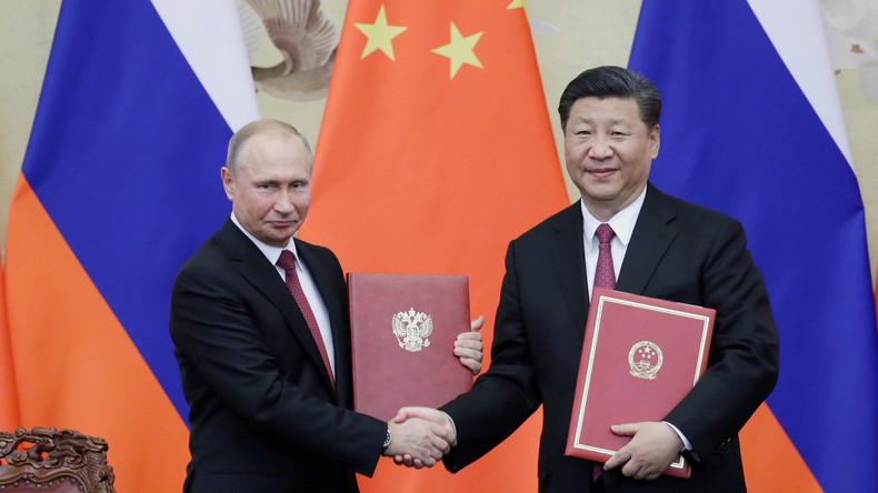 Putin: Russland und China knacken dieses Jahr Handelsvolumen von 100 Milliarden US-Dollar