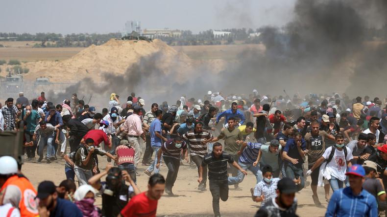 Zusammenstöße an der Gaza-Grenze: Vier Tote, über 600 Verletzte