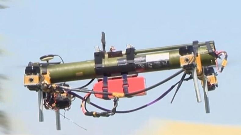 Weißrussland entwickelt Drohne mit Raketenwerfer zur Panzerabwehr