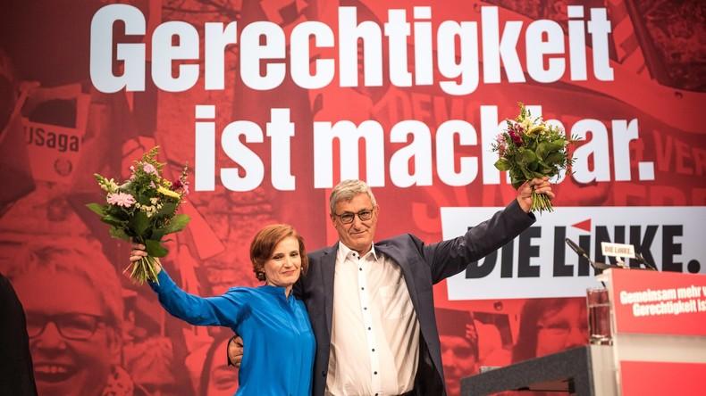 Kipping und Riexinger als Linken-Vorsitzende wiedergewählt