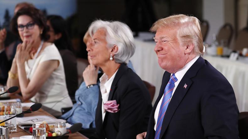 Der G7-Gipfel der Uneinigkeit: Wenn nur einer jubelt