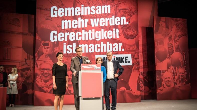 Bundesparteitag der LINKEN - Rede der Fraktionsvorsitzenden Sahra Wagenknecht (Mit LIVE-Link)