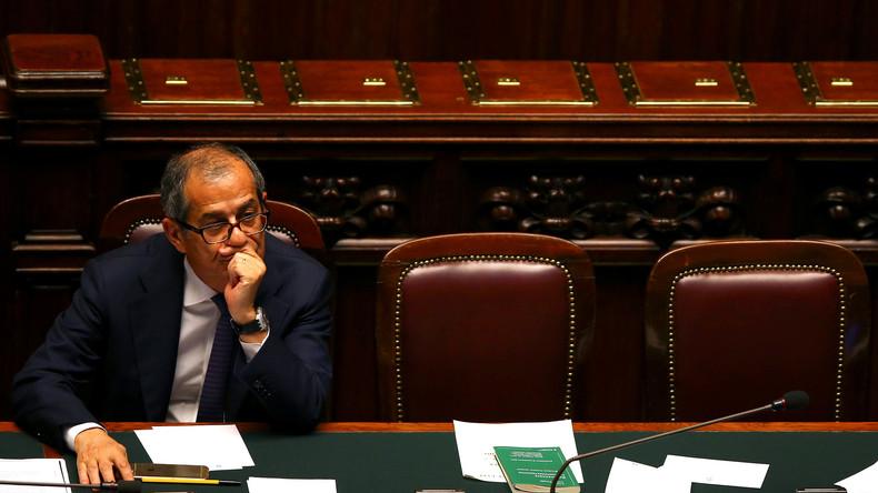 """Italiens Finanzminister Giovanni Tria: """"Ein Euro-Austritt kommt nicht in Frage"""""""