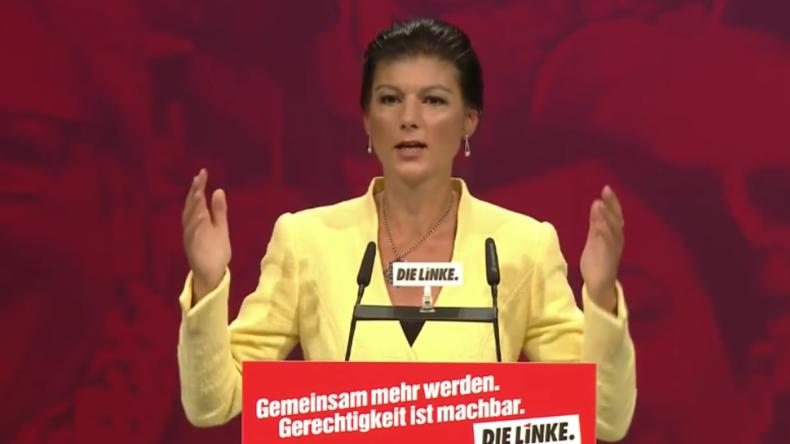Buh- und Jubelrufe - Wagenknechts Rede auf Linken-Parteitag sorgt für Wirbel