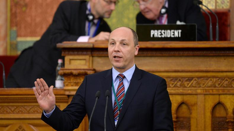 """""""Echter Nazi"""" - Paris streitet über Besuch des rechtsextremen ukrainischen Parlamentspräsidenten"""