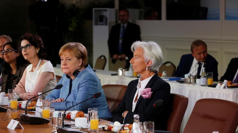 LIVE ab 19 Uhr: Merkel trifft Spitzen Internationaler Wirtschafts- und Finanzorganisationen