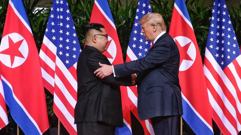 """""""Eine Menge Fortschritt"""": Trump und Kim wollen Vereinbarung unterzeichnen"""